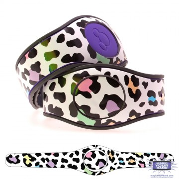 Leopard Print (Multicolor) MagicBand 2 Skin