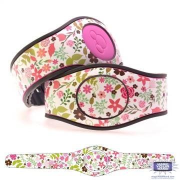 Spring Flowers Series 3 - Pink Flowers MagicBand 2 Skin