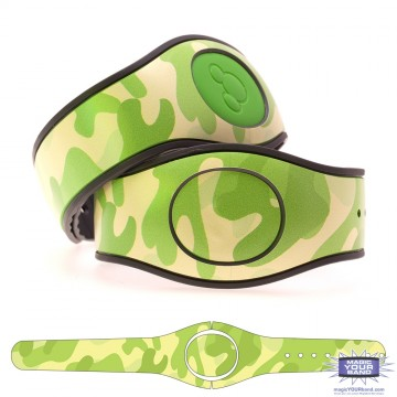 Camouflage Pattern (Green) MagicBand 2 Skin