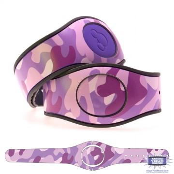 Camouflage Pattern (Purple) MagicBand 2 Skin