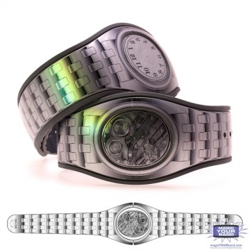 Silver Watch MagicBand 2 Skin