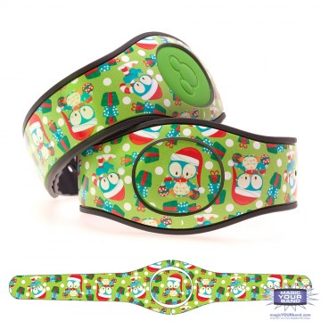 Penguin with Christmas Presents MagicBand 2 Skin