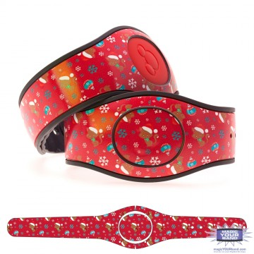 Kitty with Christmas Baubles MagicBand 2 Skin