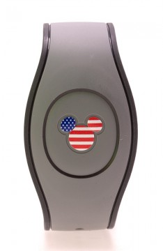 Stars and Stripes MagicBand Icon Stickers
