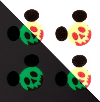 Glow in the Dark Poison Apple MagicBand Icon Stickers