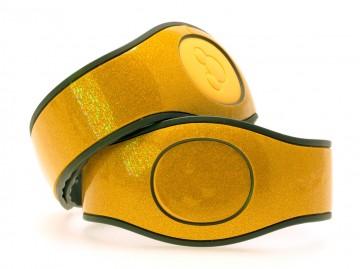 Topaz Yellow Ultra Glitter MagicBand 2 Skin