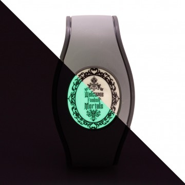 Glow in the Dark Welcome Foolish Mortals Icon Disk