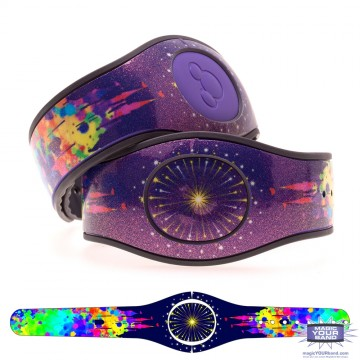 Ultra Glitter Painted Castle MagicBand 2 Skin (Limited Release)