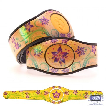 Yellow Flowers MagicBand 2 Skin