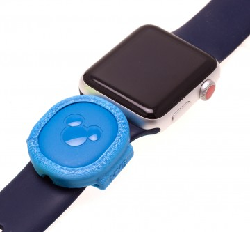 Blue MagicBand Puck Holder/Adapter