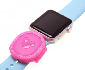 Pink MagicBand Puck Holder/Adapter