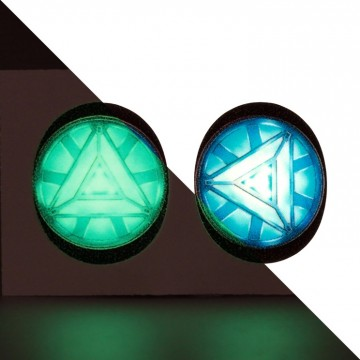 Glow In The Dark Arc Reactor Icon Disk