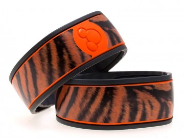 Tiger Print MagicBand Skin
