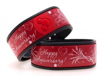 Happy Anniversary MagicBand Skin