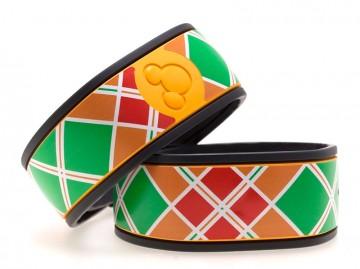 Plaid design MagicBand Skin