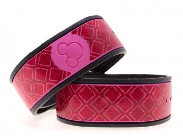 Pink Squares MagicBand Skin