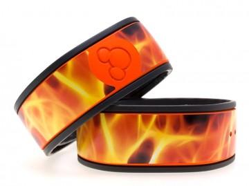 Flames MagicBand Skin