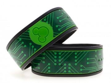 Green Circuit Board MagicBand Skin