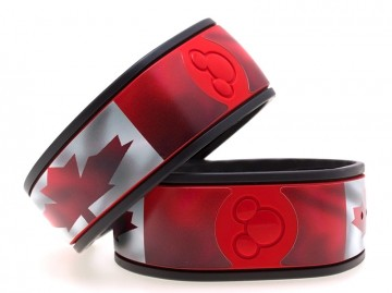 Maple Leaf MagicBand Skin