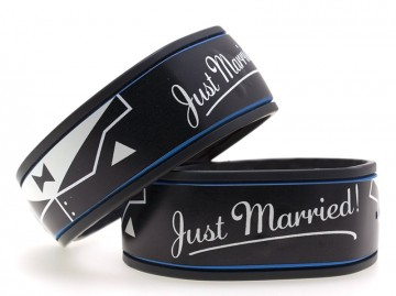 Just Married (Groom) MagicBand Skin