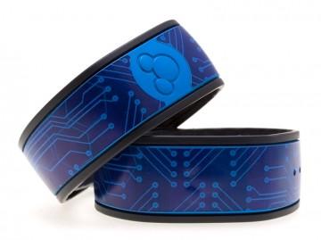 Blue Circuit Board MagicBand Skin