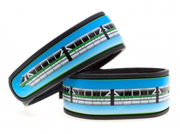 Monorail Green MagicBand Skin