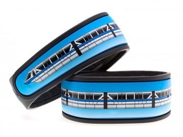 Monorail Blue MagicBand Skin