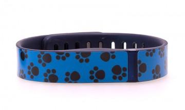 Paw Print (Blue) Fitbit Flex Skin