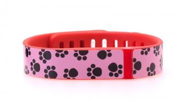 Paw Print (Pink) Fitbit Flex Skin