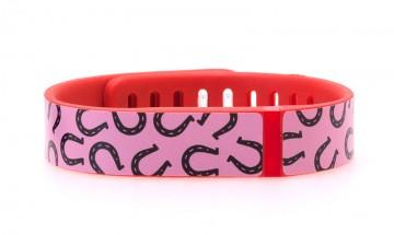Horseshoe Pattern (Pink) Fitbit Flex Skin