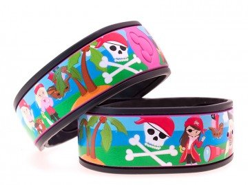 Pirate Girl MagicBand Skin