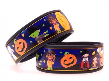 Halloween Characters MagicBand Skin