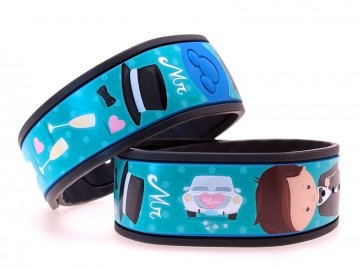 "Newlywed ""Mr"" Groom MagicBand Skin"