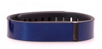 Sapphire Blue Glitter Fitbit Flex Skin