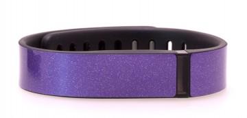 Amethyst Purple Glitter Fitbit Flex Skin