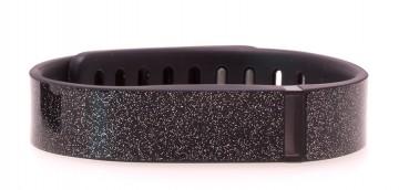Anthracite Black Glitter Fitbit Flex Skin