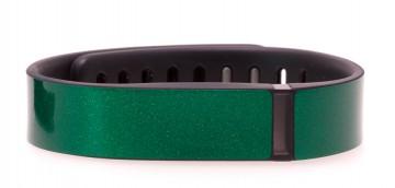Emerald Green Glitter Fitbit Flex Skin