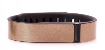 Antique Gold Glitter Fitbit Flex Skin
