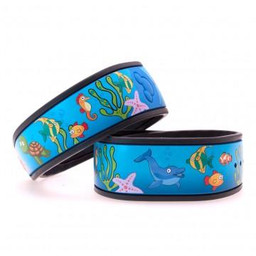 Sea Animals MagicBand Skin