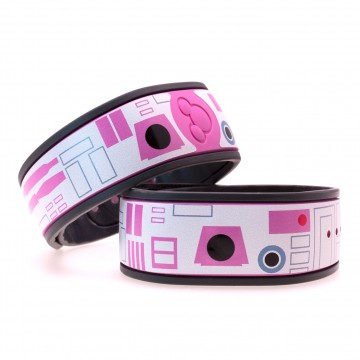 Pink Droid MagicBand Skin