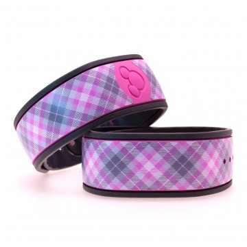"""Taffy"" Plaid MagicBand Skin"