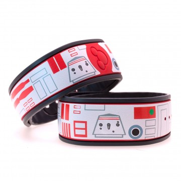 Red Droid MagicBand Skin