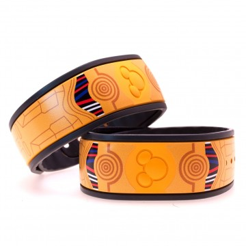 Golden Droid MagicBand Skin
