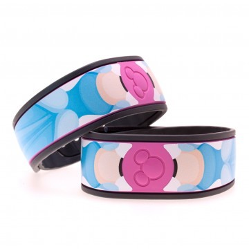 Fairytale Princess in Blue MagicBand Skin
