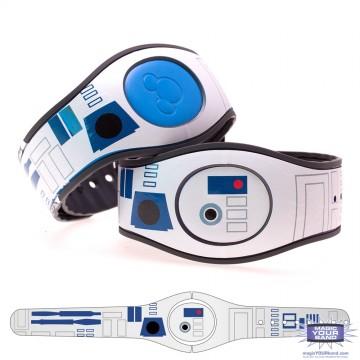 Blue Droid MagicBand 2 Skin
