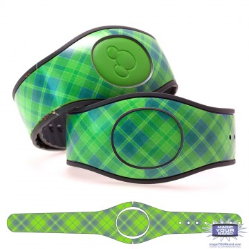 """Apple"" Plaid MagicBand 2 Skin"