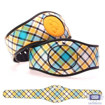 """Sunglow"" Plaid MagicBand 2 Skin"