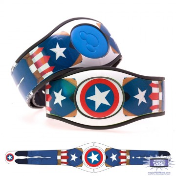 Shielded Superhero (Costume) MagicBand 2 Skin