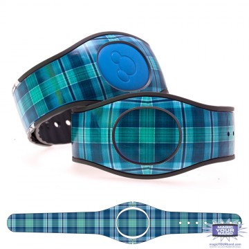 """Elderberry"" Plaid MagicBand 2 Skin"