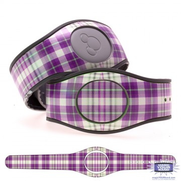 """Loganberry"" Plaid MagicBand 2 Skin"